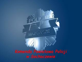 Komenda Powiatowa Policji  w Sochaczewie