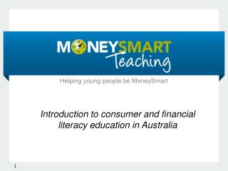 Introduction to consumer and financial literacy education in Australia