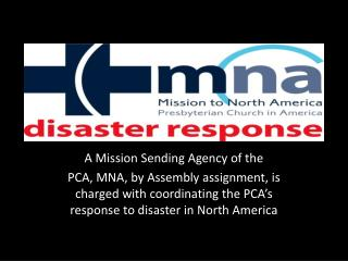 A Mission Sending Agency of the