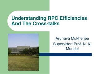 Understanding RPC Efficiencies And The Cross-talks