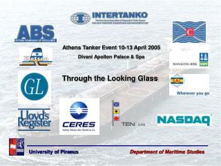 Athens Tanker Event 10-13 April 2005 Divani Apollon Palace & Spa