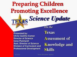 Preparing Children   Promoting Excellence