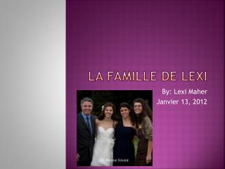 La  Famille  de Lexi