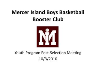 Mercer Island Boys Basketball Booster Club