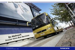 Bo Wallmark Director Volvo Bus Services