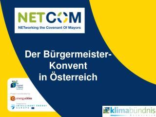 Der Bürgermeister-Konvent  in Österreich