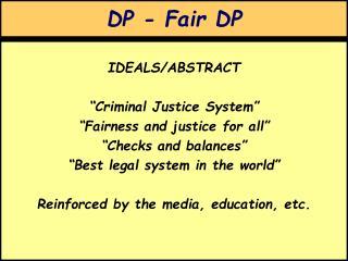 DP - Fair DP