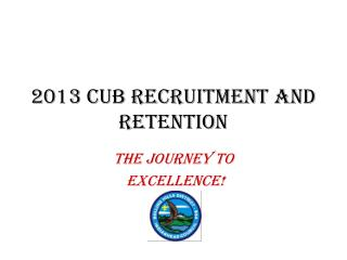2013 CUB RECRUITMENT AND RETENTION