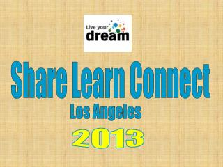 Share Learn Connect
