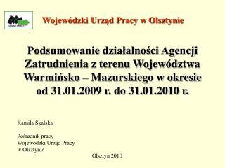 Wojewódzki Urząd Pracy w Olsztynie