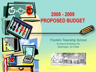 Franklin Township School 52 Asbury-Broadway Rd. Washington, NJ 07882