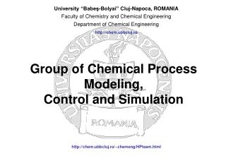 Group of Chemical Process Modeling, Control and Simulation