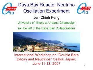 Daya Bay Reactor Neutrino Oscillation Experiment
