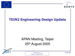 TEIN2 Engineering Design Update