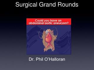 Dr. Phil O'Halloran