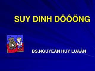 SUY DINH D   NG