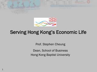 Serving Hong Kong's Economic Life