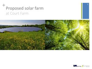 Proposed solar farm