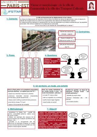 EL-HADEUF  Mounya 1 ère  année doctorat - VTT urbanisme et aménagement  Mounya.el-hadeuf@enpc.fr