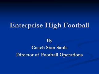 Enterprise High Football