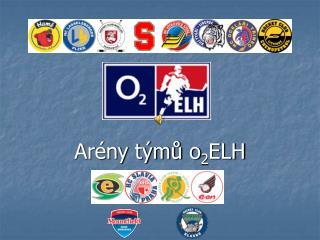 Arény týmů o 2 ELH