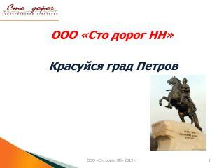 ООО «Сто дорог НН»