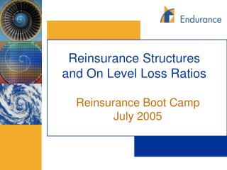 Reinsurance Structures and On Level Loss Ratios