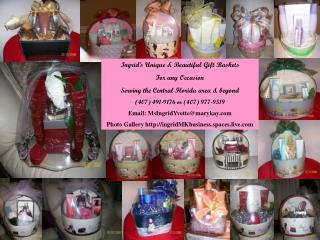 Ingrid's Unique & Beautiful Gift Baskets For any Occasion