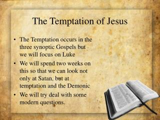 The Temptation of Jesus
