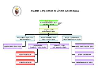 Modelo Simplificado de Árvore Genealógica