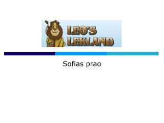 Sofias prao