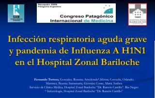 Fernando Tortosa , Gonzalez, Roxana; Arredondo*,Silvina; Cerocchi, Orlando;