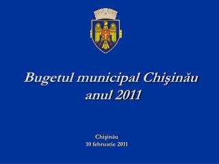 Bugetul municipal Chişinău  anul 2011