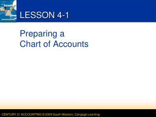 LESSON 4-1