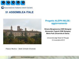 51 ASSEMBLEA ITALE