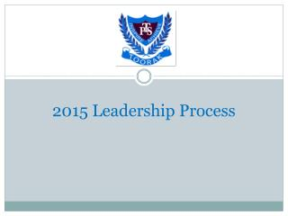 2015 Leadership Process