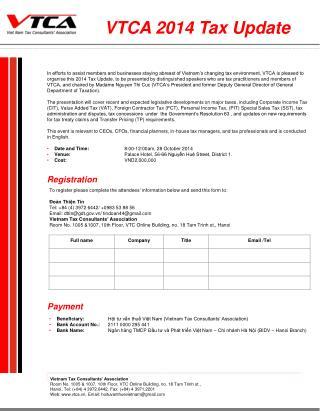 Vietnam Tax Consultants' Association