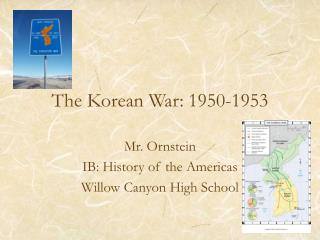 The Korean War: 1950-1953