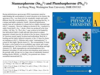 Stannaspherene (Sn 12 2- ) and Plumbaspherene (Pb 12 2- )