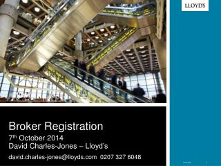 Broker Registration