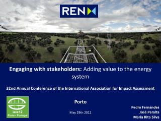 Engaging with stakeholders:  Adding value to the energy system