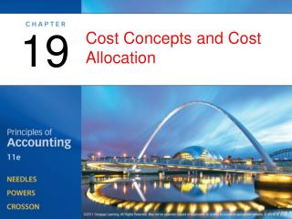 Cost Concepts and Cost Allocation