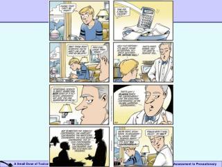 Precautionary Assessment