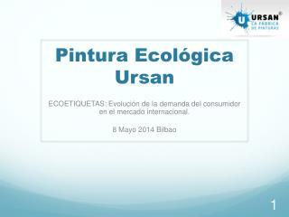 Pintura Ecológica Ursan