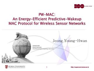 PW-MAC:  An Energy-Efficient Predictive-Wakeup MAC Protocol for Wireless Sensor Networks
