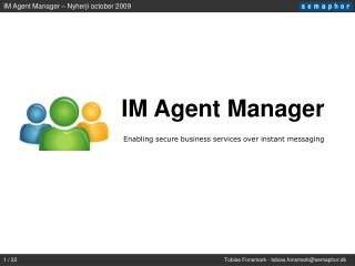 IM Agent Manager