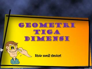 GEOMETRI TIGA DIMENSI