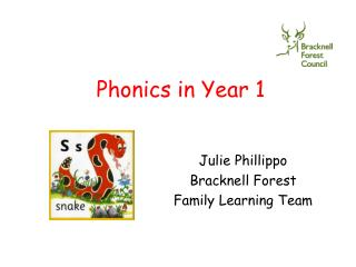 Phonics in Year 1