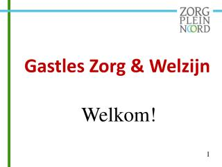 Gastles Zorg & Welzijn Welkom!