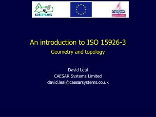 An introduction to ISO 15926-3 Geometry and topology